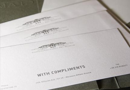 with compliments copelouzos